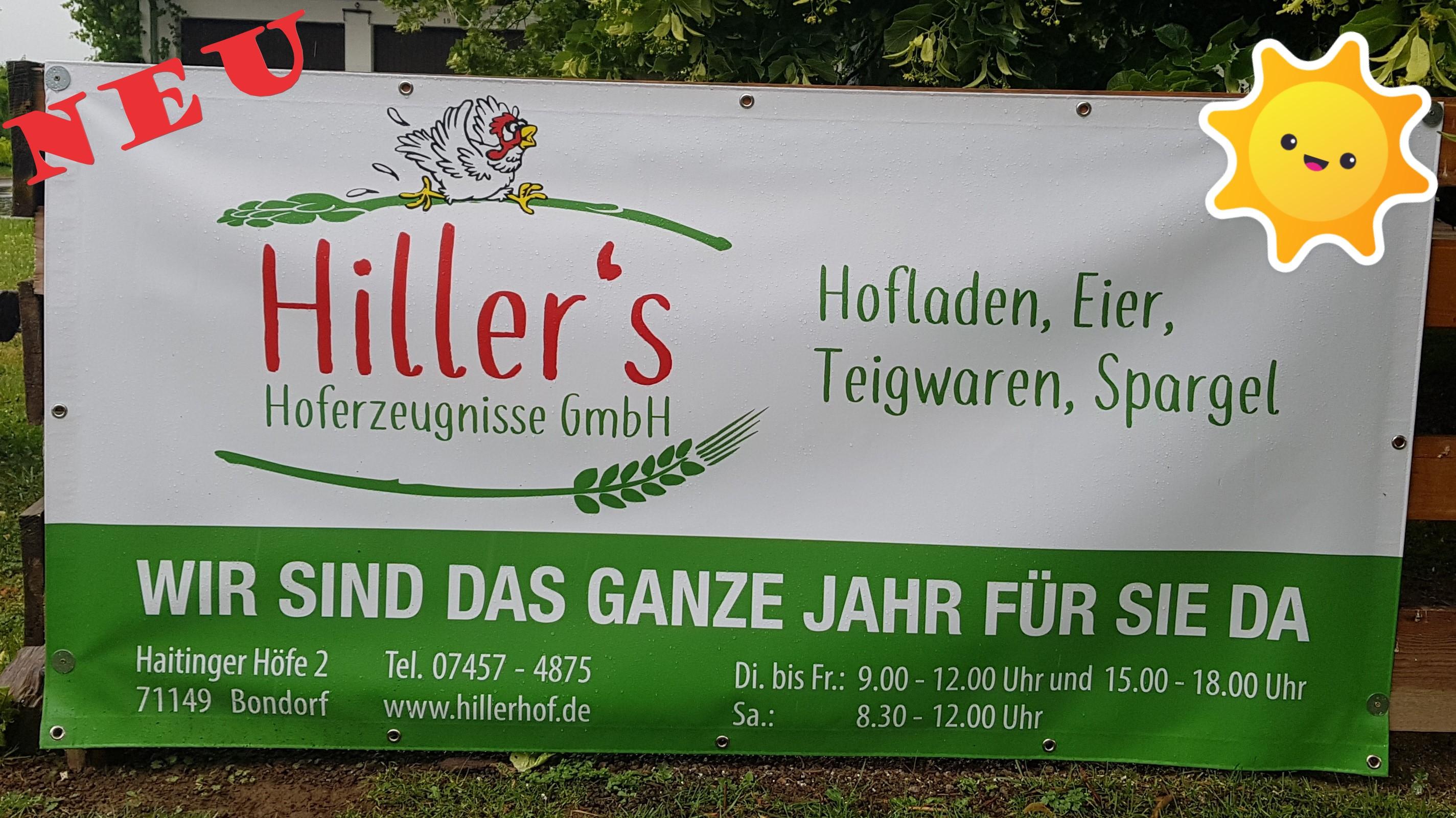 Hiller | Bondorf | Spargel | Hofladen | regionale Produkte | Eier | Nudeln | Teig